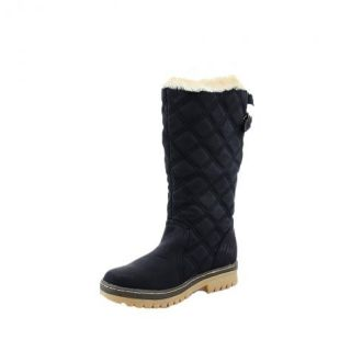 New Womens Fashion Quilted Fur Lined Boots Sizes 3 4 5 6 7 8