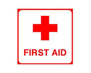 First Aid Symbol Vinyl Decal Sticker Car Window Body Safety Kit