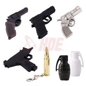 4GB 8GB Gun Weapon Black Ops Flashdrives USB 2 0 Flash Drive Memory Stick