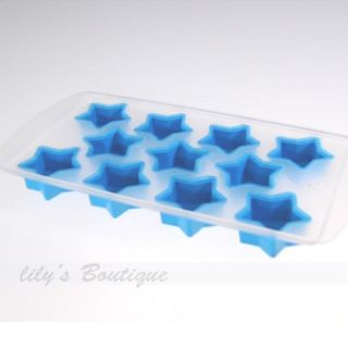 Cool Mult Shape Ice Chocolate Cake Jelly Pudding Tray Mold Mould Cube Maker Cell