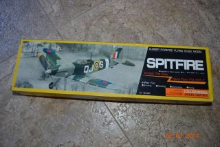 Spitfire Bentom Rubber Powered Foam Model Airplane Kit