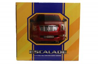 GK Racer Series Cadillac Escalade 1 16 Scale Full Function Radio Control Red