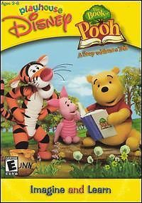 Playhouse Disney Book of Pooh PC CD Kids Adventure Game 044702017584