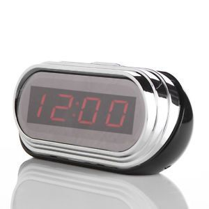 1080p Full HD Clock Spy Camera Recorder w Motion Detection Remote Control HDMI