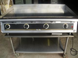 4ft Gas Griddle 48 Grill Flattop Flat Top 4 Burner Star