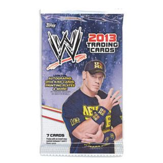 Topps Topps Trading Cards WWE 2013 Wrestling Pack 7 Cards New