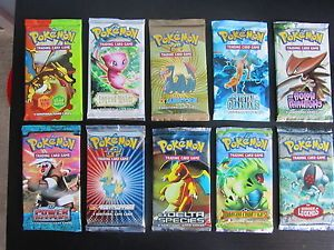 Pokemon Trading Card Game EX Series Booster Packs