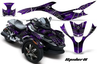 Can Am BRP Spyder RS Graphics Kit Decals Spiderx PRB