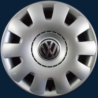 "'01 11 Volkswagen Jetta VW Golf 15"" 61538 Hubcap Wheel Cover 1J0601147PGJW"