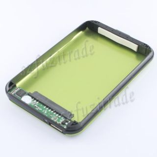 "New Green 2TB USB 3 0 2 5"" SATA HD HDD Hard Drive Disk External Case Enclosure"