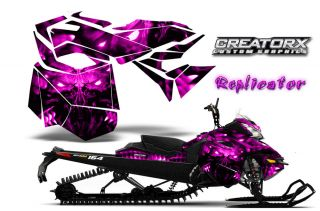 Ski Doo Rev XM Summit Snowmobile Sled Graphics Kit Wrap Creatorx Decal RCP