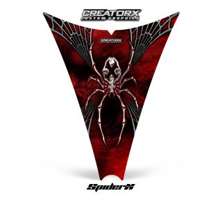 Ski Doo Rev Snowmobile Hood Graphics Kit Decal SXRW
