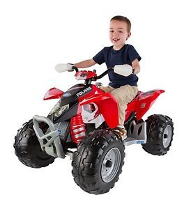 Polaris Outlaw Electric Quad ATV Kids Four Wheeler Rover Motor Bike Play Car Toy
