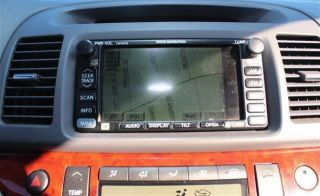 2002 2003 2004 Toyota Camry Factory Voice Navigation CD GPS JBL Unit