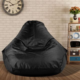 Big Boppa Indoor Outdoor Heavy Duty Bean Bag Chair Black