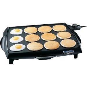 National Presto Industries Biggriddle 07046 Electric Griddle Grills Fondue