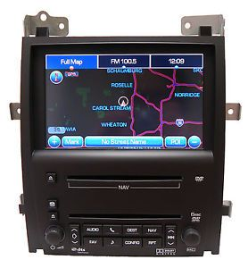 Cadillac Escalade Navigation GPS 6 Disc CD DVD Player Ext ESV Factory Unit