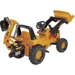 Kettler Ride on Pedal Tractor Loader Backhoe Gift Toy Boys Truck Kids Children