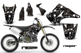 AMR Racing Dirt Bike Motorcycle Sticker Kit Kawasaki KX 125 250 03 12 Reaper K