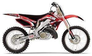 "Flu Designs Honda Pro Team Series Graphic Kit CR125 250 ""2000 01"" Part 11063"