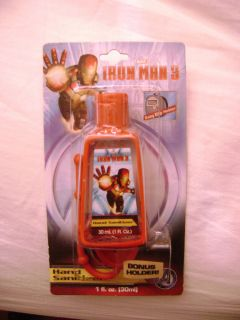 Kid's Marvel Iron Man 3 Clip Holder Hand Sanitizer
