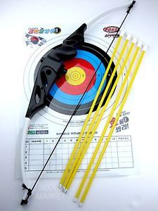 New Safety Bow Arrow Target Archery Toy Set for Kids Gift Indoor Outdoor
