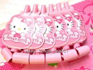 Hello Kitty Birthday Wedding Party Supplies Toy Blowouts BLOWOUT Blow Out 6pcs