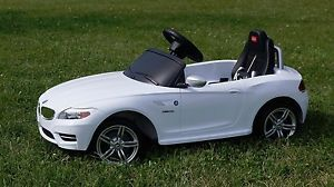 BMW Z4 Kids Ride on Power Wheels Battery Toy Car Remote Control
