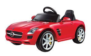 Licensed Mercedes Benz SLS AMG R C Battery Kids Baby Ride on Toy Car 1 4