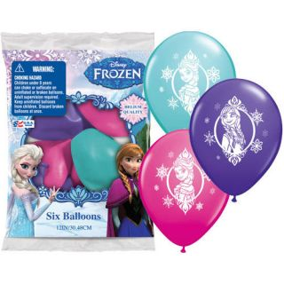 "Disney ""Frozen"" Princess Movie Birthday Party Supplies Printed Latex Balloons"