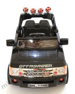 Kids Ride on Car 12V Electric Battery Range Rover in Black Red White Jeep New