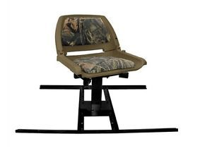 Ranger Rhino Tyrex Truck Pickup Bed Hunt Hunting Chair w Swivel Post Camo New