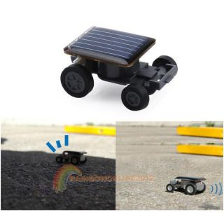 Solar Power Mini Toy Car Racer Educational Gadget w R1BO