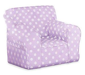 Purple Polka Dot Cover for Pottery Barn Kids Anywhere Chair Oversize