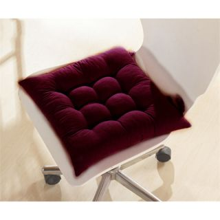 Fashionable Warm Soft Cozy Seat Cushions Chair Cushion Pad Dark Reddish Purple