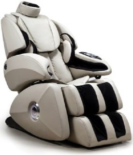 New Osaki Taupe OS 7000 Executive Reclining Zero Gravity Full Body Massage Chair