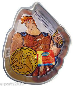 Hercules Wilton Cake Pan Birthday Party Supplies