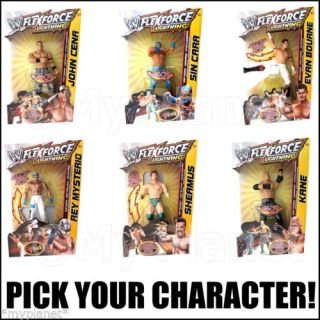WWE Flexforce Lightning Wrestling Kids Toy Action Figure Pick Your Character New