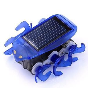 Cute Solar Power Energy Solar Powered Bionic Rovertoy Car Gadget Toy for Kids
