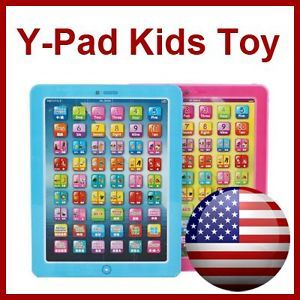 Learning Tablet Game English Computer Kids Toy YPAD Educational