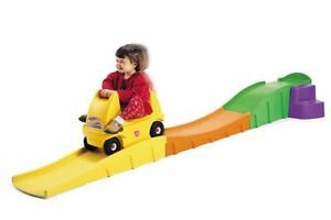 Step2 Up Down Roller Coaster Car Kids Indoor Outdoor Rollercoaster Ride on Toy