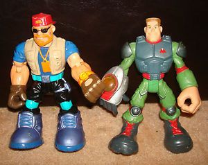 X2 Lot Fisher Price Rescue Hero Action Figure Toys Kids Children's Guys FP RH