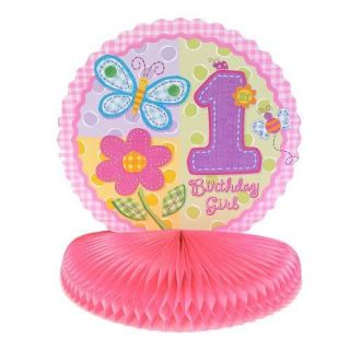Girl's 1st Birthday Party Centerpiece Party Supplies