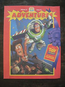 Burger King Kids Club Adventures Activity Book Disney Toy Story Unused
