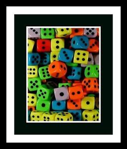 Lot 10 Dice Kids Toys Boys Girls Birthday Christmas Halloween Party Favors
