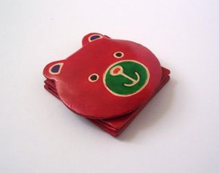 Kids Childrens Girls Cute Teddy Bear Coin Purse Gift