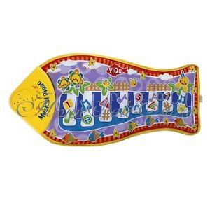 Great Gift Baby Kid Child Piano Music Fish Animal Mat Touch Kick Play Fun Toy