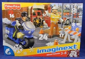 Advent Calendar Imaginext 24 PC Kids Girls Boys Toy December Christmas W2848