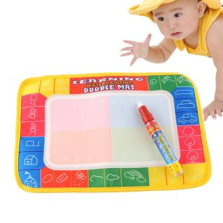 Water Drawing Painting Writing Mat Magic Pen Doodle Toy Kids Nontoxic Toy