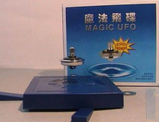 Magic UFO Magnetic Flying Saucer Hi Tech Amazing Toy